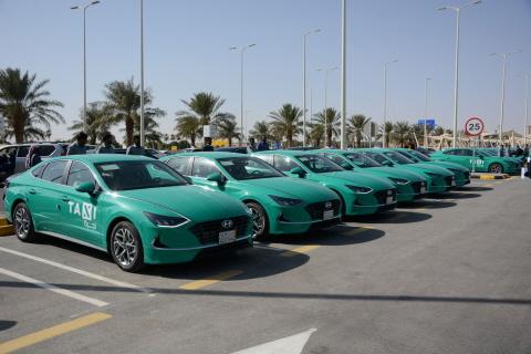 Hyundai Motor remporte une importante commande pour la nouvelle gare de taxi en Arabie saoudite pour des Hyundai Sonata